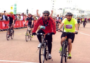 London Brighton finish line 2015